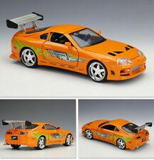 New Fast & Furious JADA 1/24 1995 TOYOTA SUPRA Diecast Car Model Toys