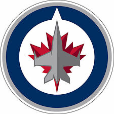 "Winnipeg Jets NHL Hockey sticker, wall decor, Large vinyl decal, 9.5""x 9.5"""