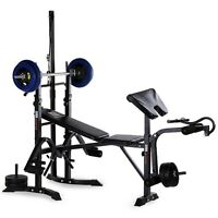 Home Fitness Dumbbell Weight Bench Barbell Lifting Folding Adjustable Bench Gym