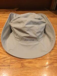 Outdoor Research OR Seattle Sombrero GoreTex Waterproof Sun Hat Khaki XL X-LARGE