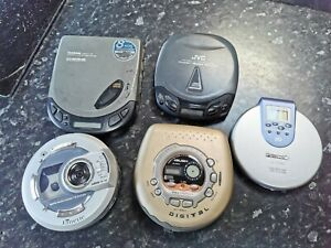 Vintage Walkman Bundle personal CD players x 5 Spares or repairs