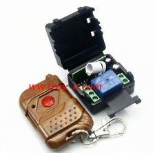 DC 12V 10A Funk Relais Relay Wireless Switch Module Fernbedienung Remote Control