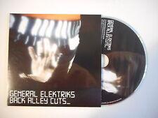 GENERAL ELEKTRIKS : BACK ALLEY CUTS [ CD ALBUM PROMO PORT GRATUIT ]
