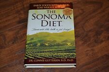 E7- The Sonoma Diet by Connie Guttersen (2005, Hardcover)