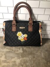 Bradford Exchange Lena Liu 'Kisses From The Sun' Quilted Satchel Purse Bag