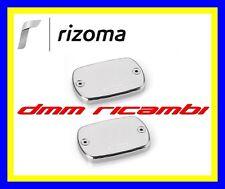 Coppia coperchi pompe freno RIZOMA YAMAHA T-MAX 530 12 argento TMAX 2012 ZYF006