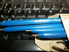 Swagger Stick Blue Ballpoint Pens From Blackfeet Writing Co   .1
