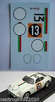 DECALS KIT 1/43 ASTON MARTIN DB4 GT GP JAPANESE