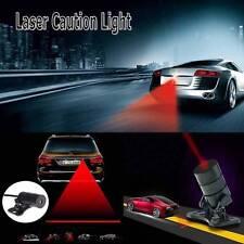 Red Universal Anti Collision Rear-end Car Laser Safe Fog Auto Brake Parking Lamp
