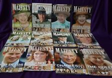 Majesty Magazine Volume 29, All original issues from 2008, British Royal Family
