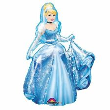 Princesse Disney Cendrillon 4ft Air Walker Hélium Géant Ballon Plat