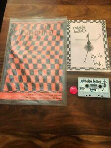RUBELLA BALLET bag cassete punk anarcho pogo dayglo 100 percent complete