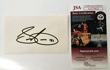 Sammy Cahn Signed Autographed 3x5 Card JSA Certified