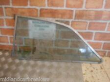 MG MGB GT COUPE 1979 NSR PASSENGER SIDE REAR WINDOW GLASS