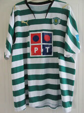 Sporting Lisbon 2007-2008 Home Football Shirt Size XL /38085