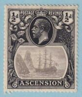 ASCENSION ISLAND 10  MINT HINGED OG * NO FAULTS EXTRA FINE!