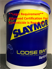 Rentokil Slaymor Loose Bait Poison Rodenticide for Rats & Mice 12kg