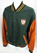 XL Mannheim Steamroller Wool Blend Coat Varsity Jacket Lined USA