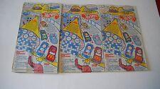 Barbie & Hot Wheels 1993 McDonalds Happy Meal Bags (3 of same bag)