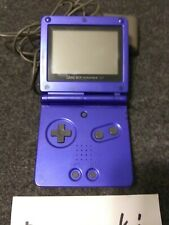 Nintendo Game Boy Advance SP Cobalt Blue Handheld System w/Charger