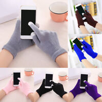 Winter Men/Women Touch Screen Gloves Knitted Warm Finger Mittens Gloves Gift