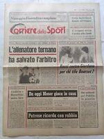 CORRIERE DELLO SPORT 27-2-1979 VICENZA-LAZIO PAOLO ROSSI BRUNO GIORDANO MOSER