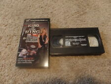 wwf KING OF THE RING 1998 vhs NON-RENTAL wrestling MANKIND