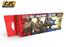AK-Interactive IDF Uniform Colors Set, AK3230, NEW!