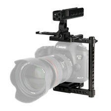 NICEYRIG Universal DSLR Camera Half Cage with NATO Handle for Canon 5D 7D 80D