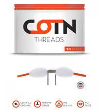 COTN Threads 20er Pack Watte Selbstwickler e Zigarette Verdampfer eZigaretten