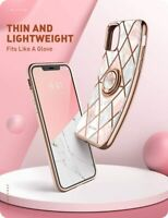 For iPhone 12 12 Pro, i-Blason Cosmo Snap 360° Ring Case Back Cover Stand Case