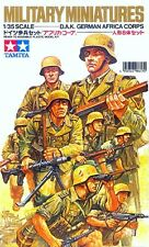 TAMIYA WWII Rommel's German infantry DAK Africa Corps Kit 1/35