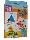 Disney Pooh's Colors and Shapes Flash Learning Cards New With Box Wear