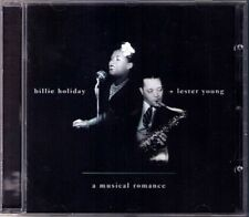 Billie HOLIDAY Lester YOUNG A MUSICAL ROMANCE The Man I Love This Year Kisses CD