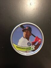 2018 TOPPS ARCHIVES COIN 1980S COINS FRANCISCO LINDOR INDIANS BLASTER ONLY