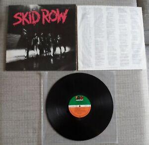 SKID ROW - SKID ROW - GERMAN ISSUE LP ON ATLANTIC RECORDS - 1989 - VGC