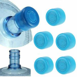 5Pcs Blue Gallon Trinkwasserflasche Eimer Schraubverschluss Ersatz A