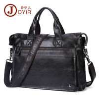 Genuine Leather Men Laptop Briefcase Attache Messenger Shoulder Bag Handbag Hot