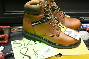 "Carhartt Men's 6"" Cmw6264 Leather Waterproof Breathable Steel Toe Work Boot"