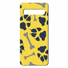 For Samsung Galaxy S10 Silicone Case Paw Print Pattern - S8520