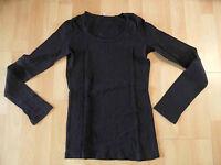 DANIELS Basic Langarm-Shirt schwarz Gr. M NEUw. SH316