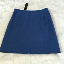 Talbots Petites Women's Skirt Size 6P Wool Blend A Line Lined Career New