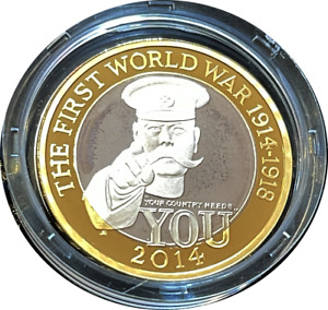 2014 £2 Two Pound  Silver Proof Outbreak