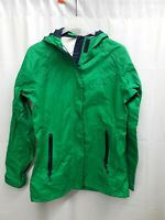 Vineyard Vines Men's Green Full Zip Nylon Rain Coat Jacket Sz XXS Extra Small