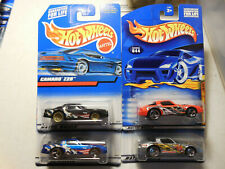 Hot Wheels Camaro Z28 Collector #1078, #124 #018 lot 4 FOSSIL FUEL MAD MANIAX