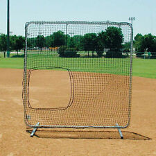 Collegiate Softball Pitcher Protector - Galvanized Steel Frame