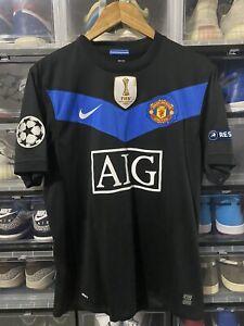 Nike Manchester United Scholes Away Jersey / Shirt  2009-2010 sz M UCL Mint