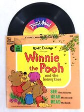 1966 Walt Disney's Winnie the Pooh and the Honey Tree, Book And Record Vinyl