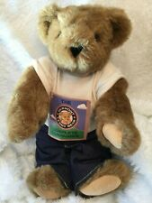 """The Vermont Teddy Bear Co. Complete Companion 15"""" Honey Color Jointed Love Bear"""