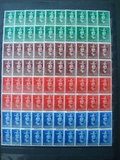 NORWAY 1939 STOCK 20 SETS MNH** COT. 90 EUR / nr 195-198 QUEEN MAUD